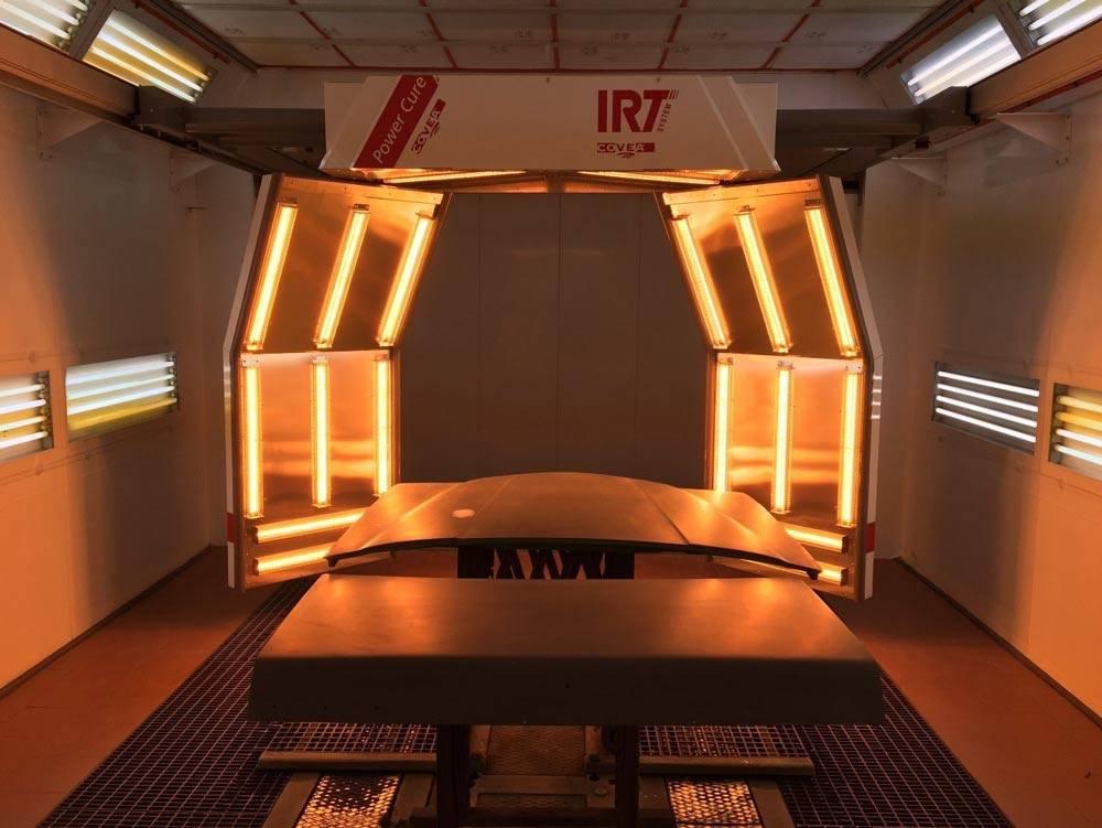 arco infrarossi officina meccanica
